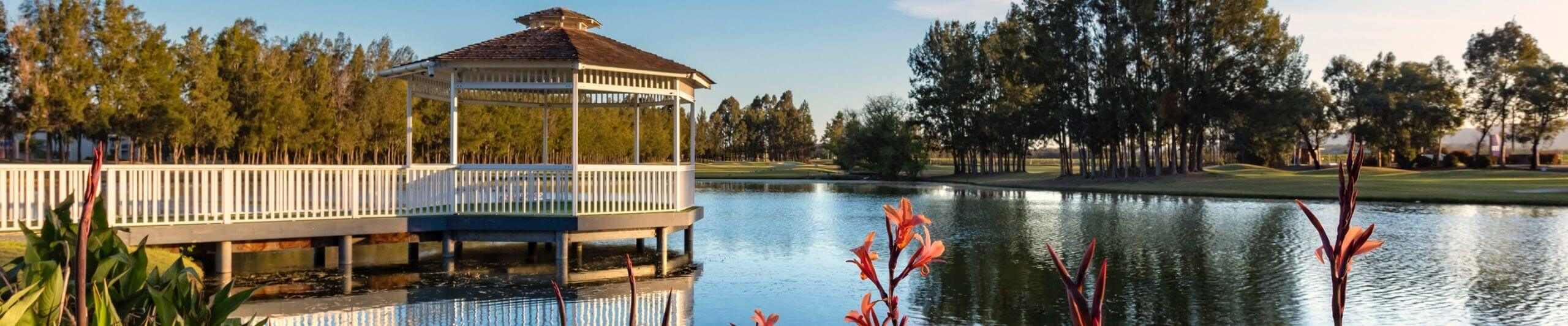 Lakeside wedding venue hunter valley