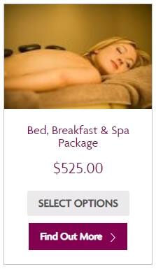 Bed, Breakfast and Spa package