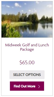 Golf and Lunch Voucher - midweek